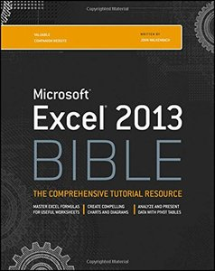 Excel 2013 Bible (Paperback)-cover