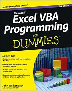 Excel VBA Programming For Dummies, 3/e (Paperback)-cover