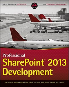 Professional SharePoint 2013 Development (Paperback)-cover