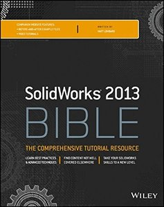 Solidworks 2013 Bible (Paperback)-cover