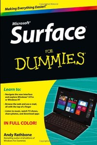 Surface For Dummies (Paperback)-cover