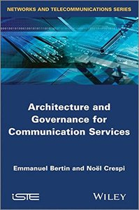 Architecture and Governance for Communication Services (Hardcover)-cover