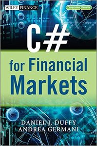 C# for Financial Markets (Hardcover)-cover