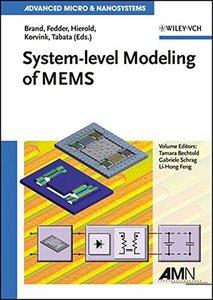 System-level Modeling of MEMS (Hardcover)