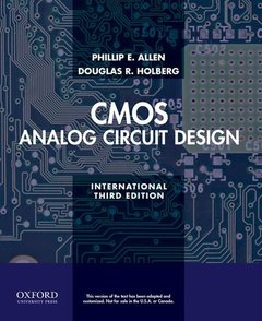 CMOS Analog Circuit Design, 3/e (Paperback)-cover