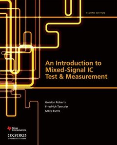 An Introduction to Mixed-Signal IC Test and Measurement, 2/e (Hardcover)-cover