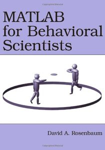 MATLAB for Behavioral Scientists (Paperback)-cover
