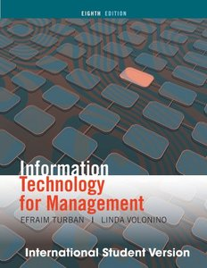 Information Technology for Management, 8/e (IE-Paperback)-cover
