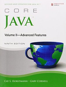 Core Java, Volume II--Advanced Features, 9/e (Paperback)-cover