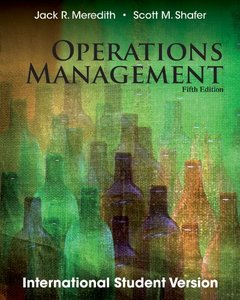 Operations Management, 5/e (IE-Paperback)-cover