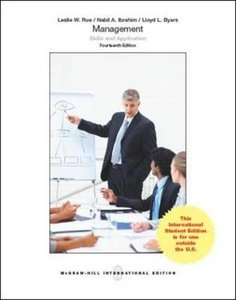 Management: Skills & Application, 14/e (IE-Paperback)-cover