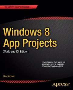 Windows 8 App Projects - XAML and C# Edition (Paperback)-cover