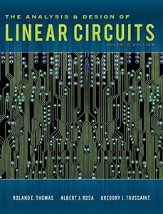 The Analysis and Design of Linear Circuits, 7/e (Hardcover)-cover