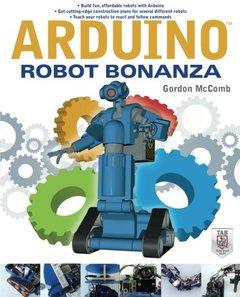 Arduino Robot Bonanza (Paperback)-cover