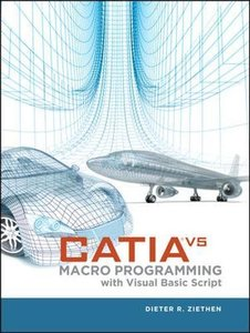 CATIA V5 Macro Programming with Visual Basic Script (Hardcover)-cover