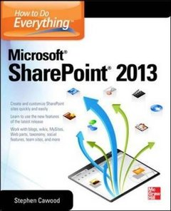 How to Do Everything Microsoft SharePoint 2013, 2/e (Paperback)-cover