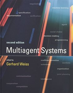 Multiagent Systems, 2/e (Hardcover)-cover