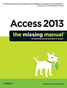 Access 2013: The Missing Manual (Paperback)-cover