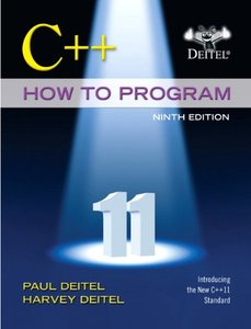 C++ How to Program (Early Objects Version), 9/e (Paperback)