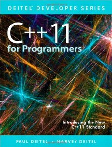 C++11 for Programmers, 2/e (Paperback)-cover