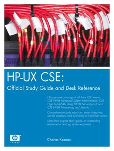 HP-UX CSE: Official Study Guide and Desk Reference (Hardcover)-cover