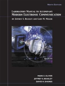 Lab Manual for Modern Electronic Communication, 9/e (Paperback)-cover