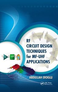 RF Circuit Design Techniques for MF-UHF Applications (Hardcover)-cover