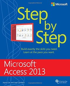 Microsoft Access 2013 Step By Step (Paperback)-cover