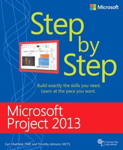 Microsoft Project 2013 Step by Step (Paperback)-cover