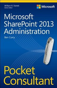 Microsoft® SharePoint® 2013 Administration Pocket Consultant-cover