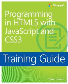 Training Guide: Programming in HTML5 with JavaScript and CSS3 (Paperback)-cover