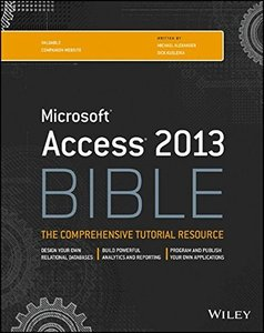 Access 2013 Bible (Paperback)-cover
