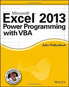 Excel 2013 Power Programming with VBA (Paperback)-cover