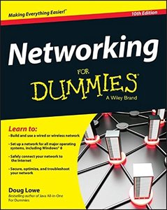 Networking For Dummies, 10/e (Paperback)-cover