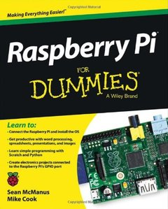 Raspberry Pi For Dummies (Paperback)-cover