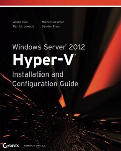 Windows Server 2012 Hyper-V Installation and Configuration Guide (Paperback)-cover