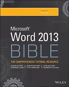 Word 2013 Bible, 4/e (Paperback)