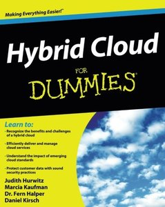 Hybrid Cloud For Dummies, 2/e (Paperback)-cover