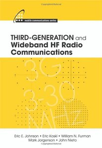 Third-Generation and Wideband HF Radio Communications (Hardcover)-cover