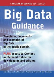 Big Data Guidance - Real World Application, Templates, Documents, and Examples of the use of Big Data in the Public Domain. PLUS Free access to membership only site for downloading. (Paperback)-cover