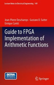 Guide to FPGA Implementation of Arithmetic Functions (Hardcover)-cover