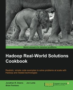 Hadoop Real World Solutions Cookbook (Paperback)-cover