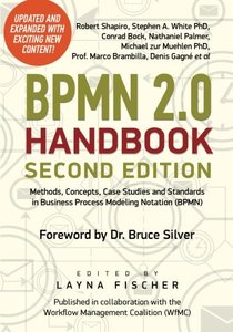 BPMN 2.0 Handbook Second Edition: Methods, Concepts, Case Studies and Standards in Business Process Modeling Notation (BPMN) (Paperback)-cover