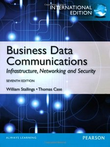 Business Data Communications, 7/e (IE-Paperback)-cover