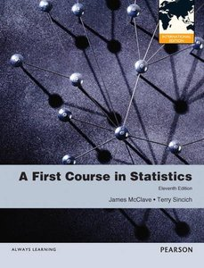 A First Course in Statistics, 11/e (IE-Paperback)-cover