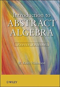 Introduction to Abstract Algebra, 4/e (Hardcover)-cover
