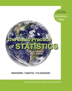 The Basic Practice of Statistics, 6/e (IE)-cover