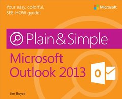 Microsoft Outlook 2013 Plain & Simple (Paperback)-cover