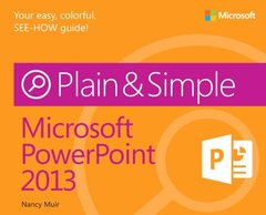 Microsoft PowerPoint 2013 Plain & Simple (Paperback)-cover