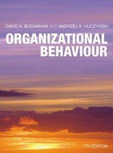 Organizational Behaviour plus Companion Website Access Card, 7/e (Paperback)-cover